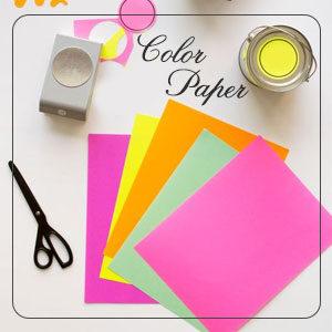 مقوا و کاغذ رنگی